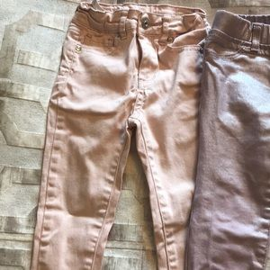 Lot of 3 Jean pants. Zara Gap and AG 2/3 size